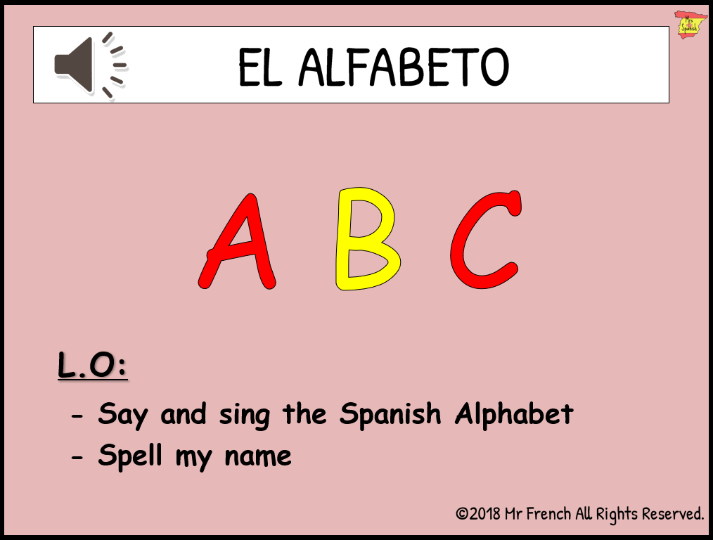 How do you spell name in spanish